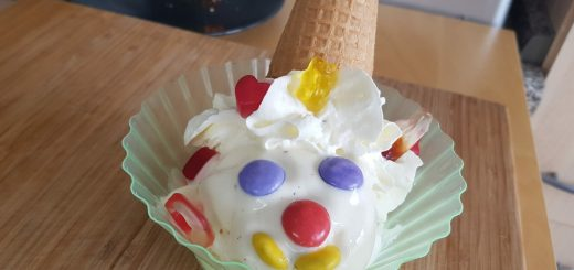Eisbecher Eis Clown