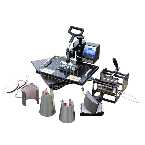 8-in-1 Multi-functional Heat Press (MHP)-CE Approval