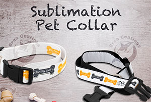 Sublimation Woven Pet Collar