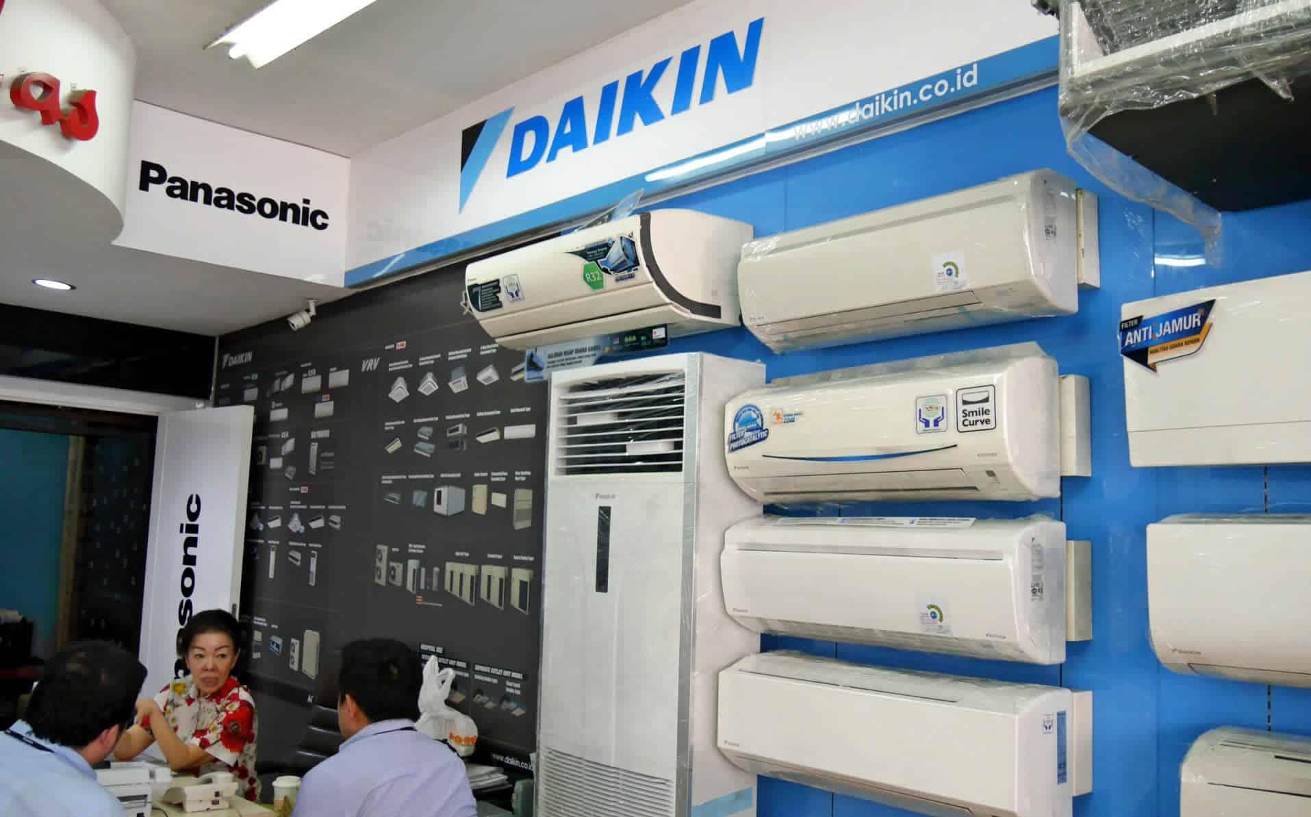 comparatif des clim de la marque daikin