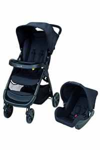 Safety 1st Amble Pack Duo Poussette Combinée Full Black, collection 2017