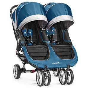 Baby Jogger Poussette City Mini Double Sarcelle