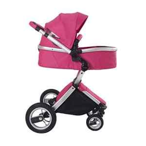 Plier poussette bébé poussette ultra-léger peut s'asseoir ou se coucher haut paysage été enfants panier (Couleur : C)