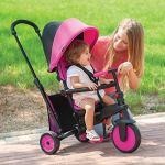 Smartrike – 5021200 – Tricycle évolutif Pliant smarTfold 300 Plus – Rose