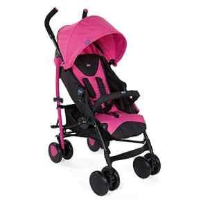 Chicco 00079431620000 Poussette Echo Complete avec Bumper Bar Deep Pink