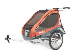 Thule Captain2 Remorque de vélo Orange/Abricot