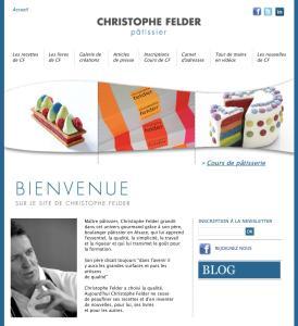 Cours de pâtisserie Christophe Felder