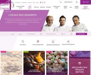 Cours de pâtisserie Alain Chartier