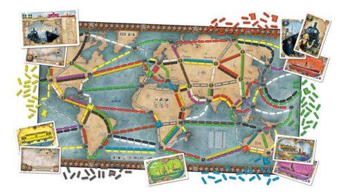 Les aventuriers du rail autour du monde - contenu