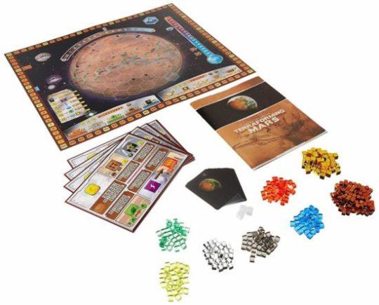 Terraforming Mars - contenu