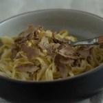 Tagliolini al tartufo bianco 吴维端