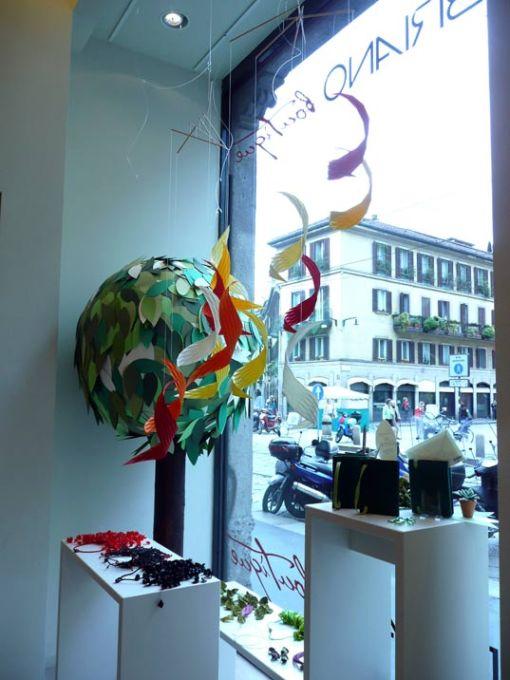 法彼雅诺(Fabriano)纸质珠宝,未来创新设计博客拍摄