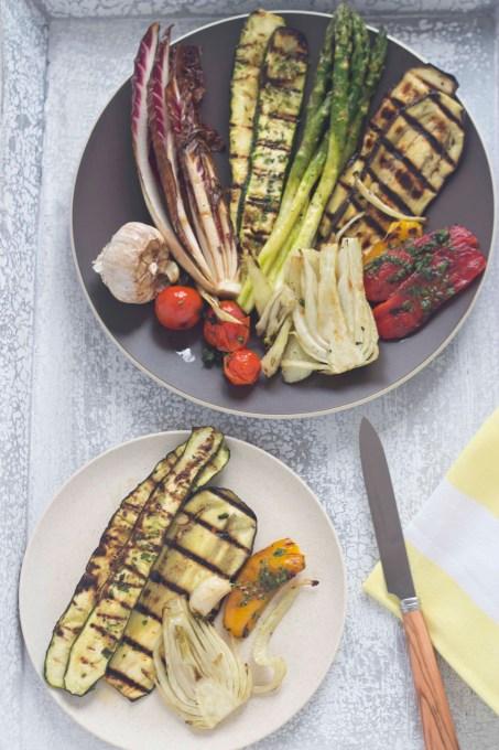 Verdure alla griglia (混合烧烤蔬菜)