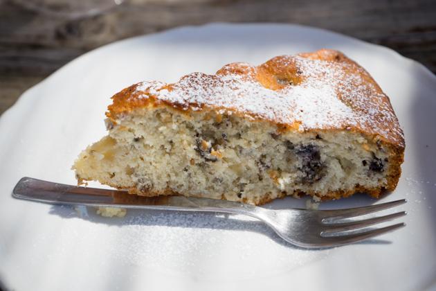 TORTA DI GELSI(桑葚蛋糕)