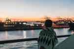 Mit der Fähre zum sonnenaufgang nach Marokko