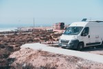 Kastenwagen Citroen Jumper Camper in Marokko Imsouane