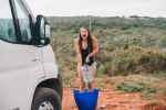Duschen beim Campen Wasserkansister
