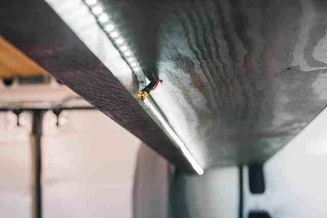 Led Streifen im Kastenwagen selbstausbau