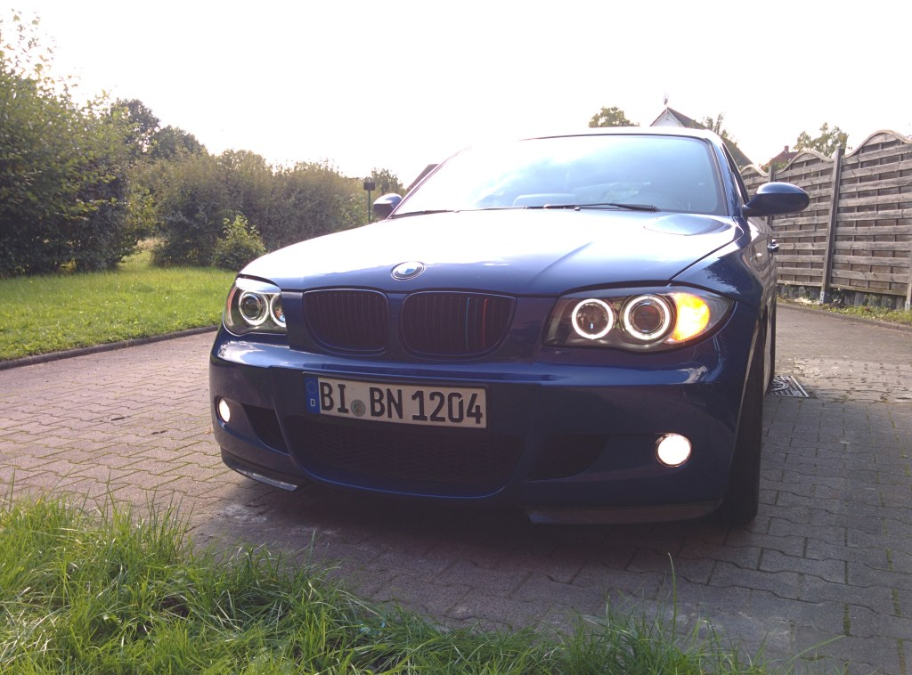 BMW 1er mit Welcome-Light