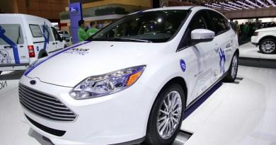 Elektroauto Genf Ford Focus Electric Europadebüt Autosalon Elektromobil