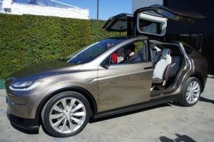 Symbolbild. Das Elektroauto Tesla Model X von Tesla Motors. Bildquelle: Tesla Motors /Übergizsmo