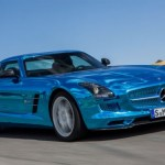 Das Elektroauto Mercedes-Benz SLS AMG Electric Drive. Bildquelle: Mercedes-Benz