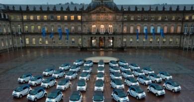 Daimler bietet per CarSharing Car2Go in Stuttgart 300 Elektroautos an. Bildquelle: Daimler