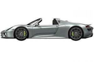 Der Porsche 918 Spyder Plug-In Hybrid. Bildquelle: Porsche