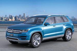 VW Cross Blue Plug-In Hybrid. Bildquelle: VW