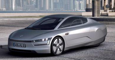 Plug-In Hybridauto XL1 von Volkswagen (VW). Bildquelle: VW AG