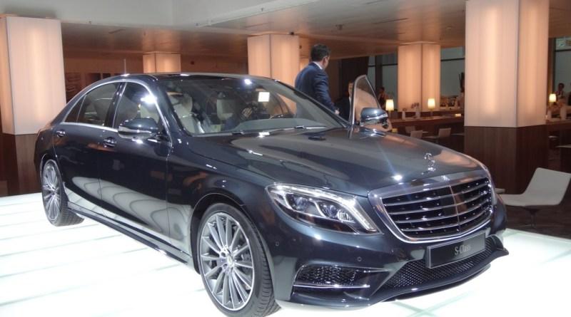 Die neue S-Klasse von Mercedes-Benz gibt es auch als Hybridauto - 2014 soll es ihn sogar als Plug-In Hybridauto geben. Bildquelle: Auto-Medienportal