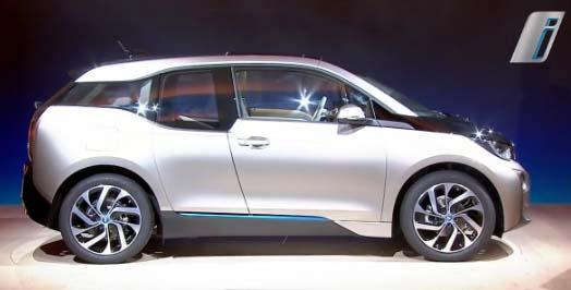 Die Weltpremiere des Elektroauto BMW i3. Bildquelle: BMW AG