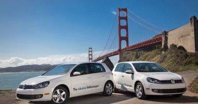 Das Elektroauto VW e-Golf. Bildquelle: Volkswagen
