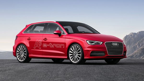 Plug- In Hybridauto Audi A3 Sportback e-tron. Bildquelle: Audi