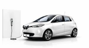 Für das Elektroauto Renault Zoe gibt es ab sofort ein Notladekabel, mit dem man die Akkuzellen auch an den sogenannten Schuko-Steckdosen aufladen kann. Bildquelle: Renault
