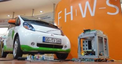Das Elektroauto Mitsubishi i-MiEV als Energiespeicher für das Einspeisen von Strom in Hausnetze. Bildquelle: Mitsubishi Motors