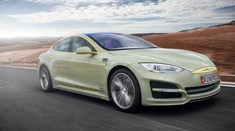 Das autonom fahrende Elektroauto Rinspeed XchangE zeigt, wie die Menschen in Zukunft ihre Zeit verbringen können. Als Basis dient das Elektrofahrzeug Tesla Model S. Bildquelle: Rinspeed AG