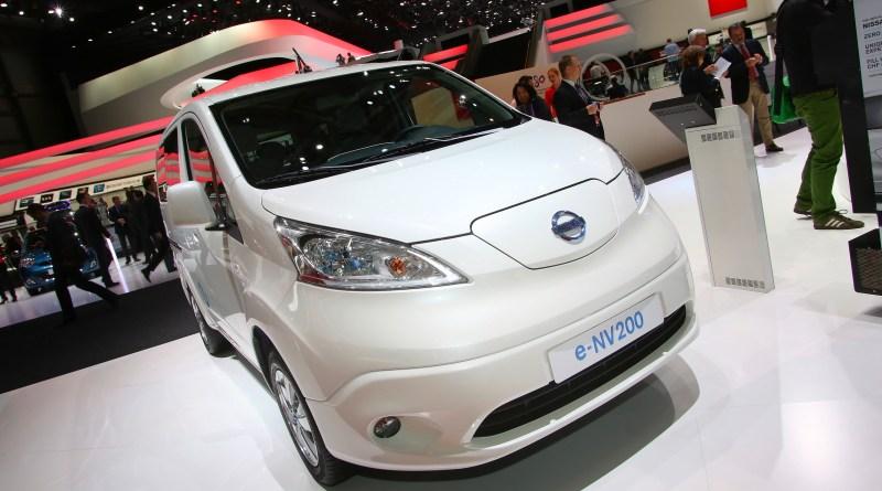 Elektroauto Nissan e-NV200. Foto: Auto-Medienportal.Net/Manfred Zimmermann