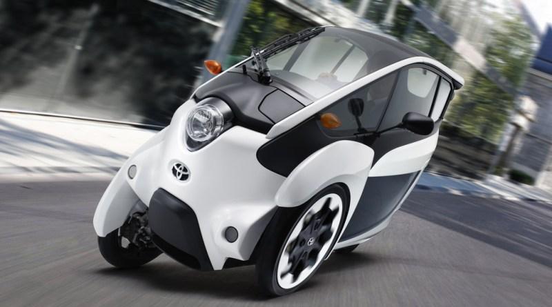 Elektroauto Toyota i-Road. Bildquelle: Auto-Medienportal.Net/Toyota