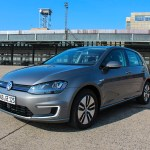 Symbolic picture. The electric car VW e-Golf has a range of up to 190 kilometers.