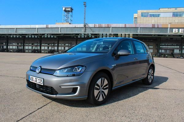 Symbolbild. Das Elektroauto VW e-Golf verfügt über eine Reichweite von bis zu 190 Kilometern.