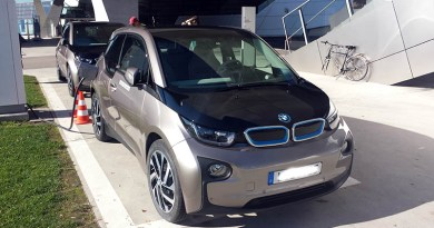 Elektroauto BMW i3. Bildquelle: James