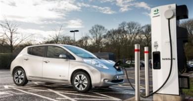Symbolbild. Schnellladestationen nach CHAdeMO-Standard erweitern den Aktionsradius des 100% elektrischen Nissan Leaf erheblich und machen ihn zum vollwertigen Alltagsauto. Bildquelle: Nissan