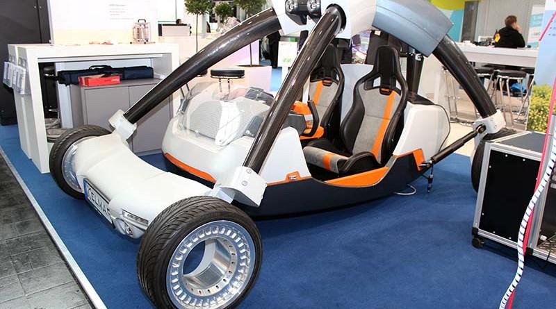 Das Elektroauto Elmar wurde von Studierenden der DHBW Mannheim gebaut.