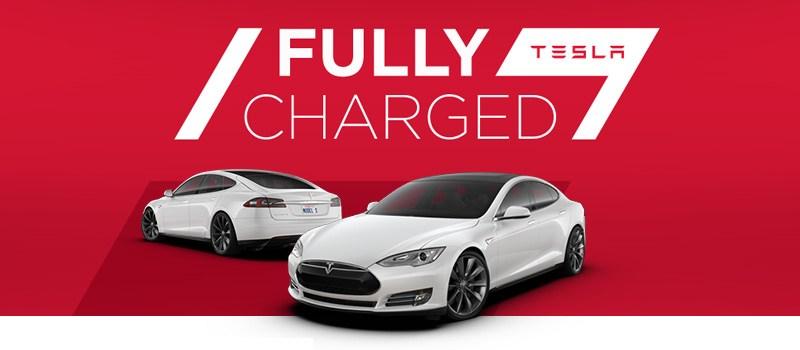Mit dem Elektroauto Tesla Model S kann im Rahmen der Fully Charged Model S Tour Testfahrten buchen. Bildquelle: Tesla Motors