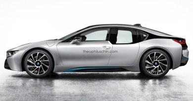So könnte die 4-Tür-Version des Plug-In Hybridauto BMW i8 aussehen. Bildquelle: Theophilus Chin (http://www.theophiluschin.com/?p=6244)