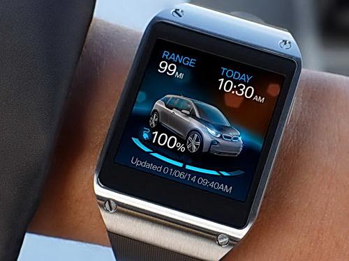 BMW i Remote App für das Elektroauto BMW i3 und das Plug-In Hybridauto BMW i8 bei den CES Innovation Awards 2015 ausgezeichnet. Bildquelle: BMW