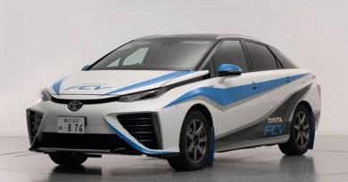 Brennstoffzellenauto Toyota Mirai. Bildquelle: Toyota