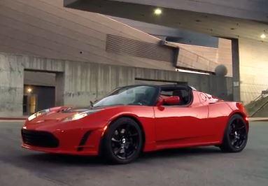 Das Elektroauto Tesla Roadster 3.0. Bildquelle: Tesla Motors