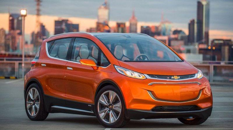 Das Elektroauto Bolt EV soll Tesla Motors ab 2017 Konkurrenz machen. Bildquelle: General Motors/Chevrolet